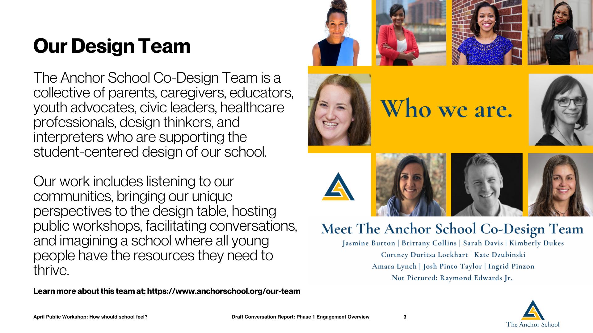 Public Workshop Series School Design The Anchor School (2)